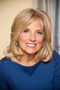 Vai'xyy Dr. Jill Biden - Wife of Joe Biden.