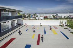 Galería - Colegio Nueva Era Álamo / HFS Arquitectos + MN Arquitectos - 3
