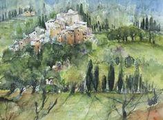 Eine Ansicht in der Toskana