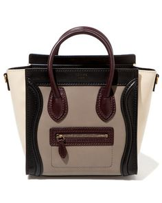 Celine 'Nano Luggage' Leather Satchel $1950