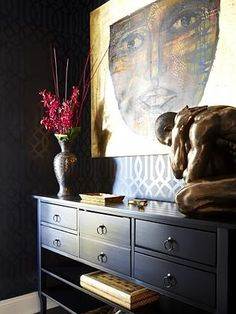 Colours were used to match the clients' artwork.
