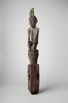 Figure (Hampatong) from the Ngadju or Ot Danum peoples from Borneo Indonesia