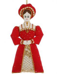 Katherine of Aragon Tudor Christmas Ornament