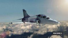 Bae Hawk AJT - Advanced Jet Trainer.