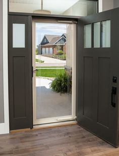 Decorative glass is more than simple curb appeal enhancement on storm doors. Decorative glass storm doors set the tone for all guests who enter. The decorative design adds a sense of elegance to your entry, making guests feel even more special as they come inside.