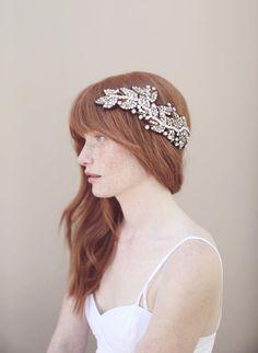 Antique crystal headwrap