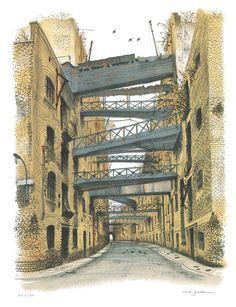 Shad Thames - David Gentleman