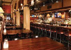 District ChopHouse & Brewery (WashDC) Crab Bisque, Delmonico Steak Diane, Nut Brown Ale