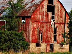 red barn.  i love barns