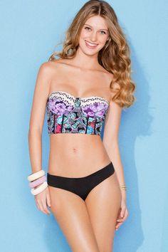 Maaji Swimwear 'Midnight Cats' Corset Top Bikini by Maaji 2013 | The Orchid Boutique