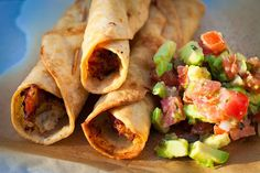 My Favorite Things: Chicken Verde Taquitos from The Secret Life of a Chef's Wife