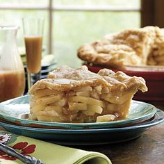 Double Apple Pie With Cornmeal Crust | MyRecipes.com