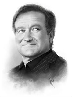 A Tribute to Robin Williams by Warren Louw fantastic pic 😃 Robin Williams Art, People Of Interest, American Actors, Comedians, Movie Stars, Actors & Actresses, Hollywood Actresses, Famous People, Beautiful People