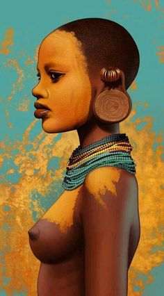 AFRICAN WOMAN IS POWER AND BEAUTY