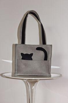 Αποτέλεσμα εικόνας για borse feltro fai da te cartamodelli