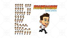 Businessman Game Sprite has just been added to GameDev Market! Check it out: http://ift.tt/1YUKOVL #gamedev #indiedev