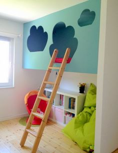 in love with detail: heavenly loft bed - For the kids - kinderzimmer Baby Bedroom, Girls Bedroom, Casa Kids, Kids Room Design, Kid Spaces, Kid Beds, Kids Decor, Kids Furniture, Girl Room