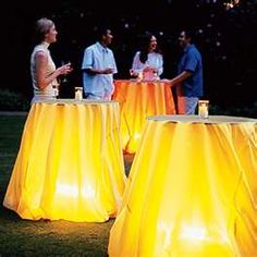 Outdoor Summer Party Ideas and Other Outdoor Party Ideas