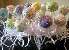auctioned-off cake pops for missionaries in Uganda.