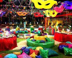 Decoração de aniversário de 30, 40 e 50 anos - Casa e Festa