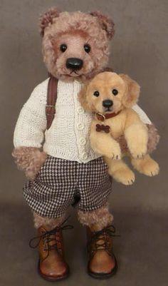 Love the golden puppy!