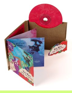 Kaki King CD Packaging - Interior