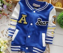 New Arrival Fashioin Baby Kids Boys Girls Children Letter Cotton Cardigans Jackets Coats Long Sleeve