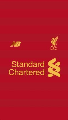 New Balance Liverpool Standard Chartered RED