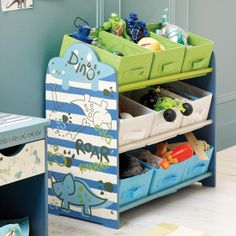 Kids Roaring Dino Collection Storage Tidy #Dunelm #Home #Kids #Play