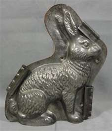Wonderful Vintage Rabbit Chocolate mold // Photo via web....