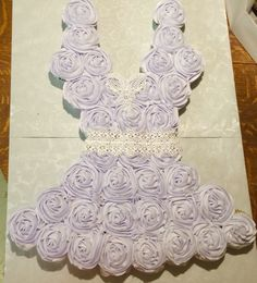 Lingerie cupcake cake with edible lace