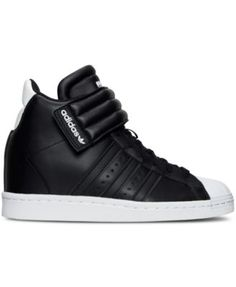 adidas Women's Superstar Up Strap Casual Sneakers from Finish Line - Finish Line Athletic Shoes - Shoes - Macy's