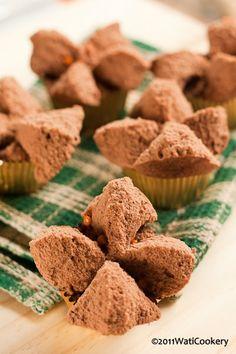 wati cookery: Brownies Kukus Mekar