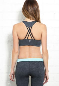 Low Impact - Strappy Studio Bra | FOREVER21 Details details details #F21Active #Exercise #Workout