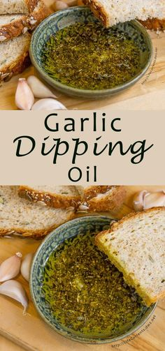 Garlic Dipping Oil is the easiest appetizer to make! With Italian herbs and lots… Garlic Dipping Oil is the easiest appetizer to make! With Italian herbs and lots of garlicky goodness, it's perfect for dipping your favorite crusty bread. Appetizer Dips, Appetizer Recipes, Picnic Recipes, Bread Appetizers, Cold Appetizers, Appetizer Dessert, Fancy Dinner Recipes, Vegetarian Appetizers, Fingers Food