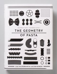 the geometry of pasta #infographics #graphicdesign