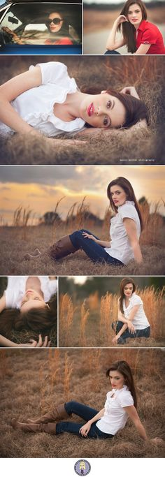 Senior Photography Poses | senior girl photography {posing ideas} / Great poses and beautiful ...