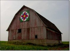 Barn Quilt at 2384 Hwy 71, Early