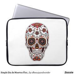 Choose from a variety of Elegant laptop sleeves or make your own! Shop now for custom laptop sleeves & more! Floral Skull, Custom Laptop, Best Laptops, Personalized Products, Laptop Sleeves, Create Your Own, Unique, Gifts, Collection