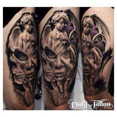 Angel demon Tattoo