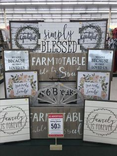 Creative Hobby Lobby Farmhouse Decor Ideas Not all decor must be seasonal. Hobby Lobby sales adorable things which you cannot find anywhere else and this farmhouse decor doesn't disappoint.