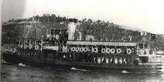 ÜSKÜDAR VAPURU 1927 ALMANYADA YAPILMIŞ 1 MART 1958 DE İZMİTTE BATMIŞ.