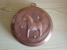 Vintage Large Copper Dessert Mold / Vintage Copper by Luckytage