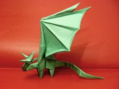 Origami Simple Dragon by Orestigami on DeviantArt