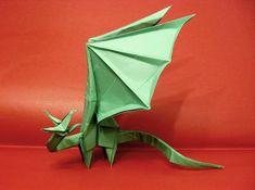 Origami Simple Dragon by Orestigami on DeviantArt