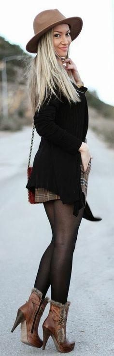 Style Statement : Look Do Dia: Tartan Skirt