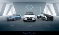 Jaguar Announces Electric Future With Battery-Powered E-Type