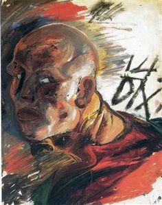 Self-Portrait - Otto Dix