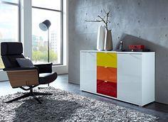 Tenzo Malibu sideboard in different colors TenzoTenzo Furniture, Bookcase Storage, Office Storage Furniture, Storage Furniture, Home Office Furniture, Sideboard, Storage Shelves, Office Design, Contemporary Rugs
