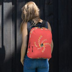 Backpack sold by Love . Shop more products from Love on Storenvy, the home of independent small businesses all over the world. Are You The One, Take That, Sports Activities, Fashion Backpack, Print Patterns, Laptop, Weather, Backpacks, Pockets
